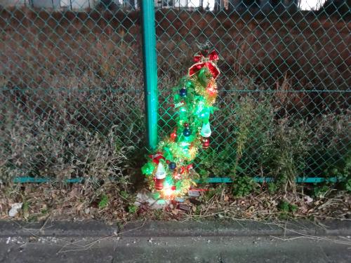 本物のクリスマスツリーと遜色ない見た目