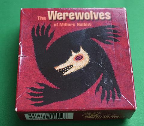 ミラーズホロウの人狼(The Werewolves of Millers Hollow) 使い込んでるのでだいぶボロに。