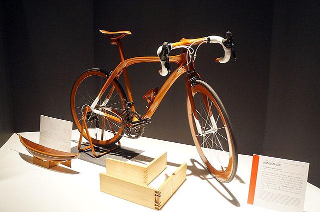 木造自転車