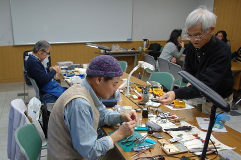 左から会長の三浦ドクター、柴田ドクター、夏目ドクター。