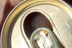 カチカチのアイス缶コーヒー。