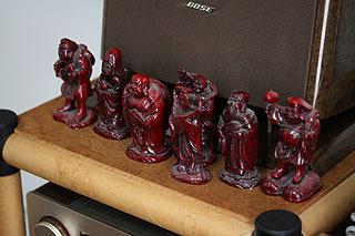 この記事の時に買った七福神も捨てられずまだ置いてある。