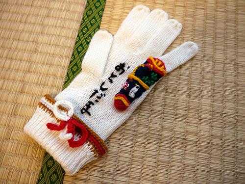 お年玉袋が手袋になった、「お年玉手袋」!