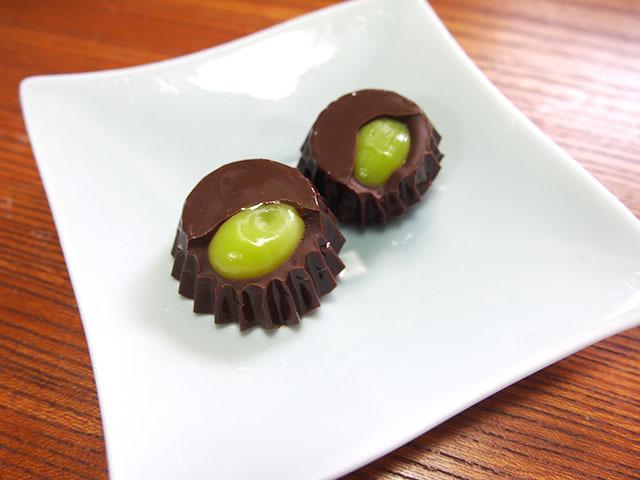 銀杏チョコレート。名前も工夫しようがないシンプルさ。