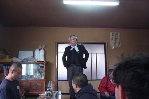 氏子総代の長峰さんからあいさつ