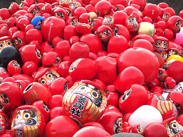 一度にこんな大量の赤いものを見たことがあるか。