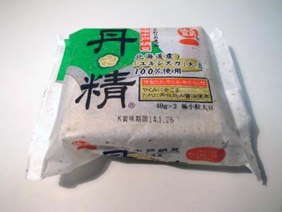 第4位:くめ納豆「丹精」2パック179円