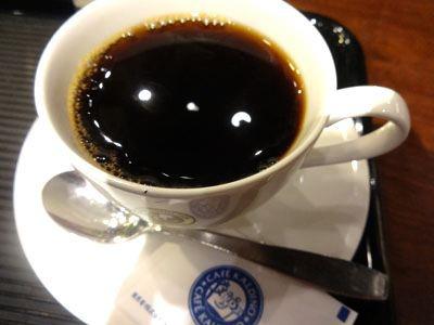 コーヒー、おいしいけど…。