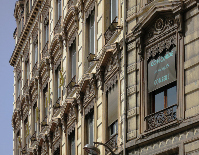 外壁というか、主に窓の集合。