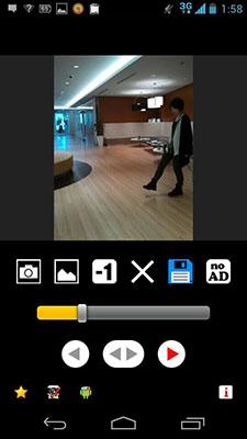 ぜんぶ撮り終わったら、速度を調節したり、余分に撮ってしまったコマを消したり、再生方向(撮った順/逆再生)を設定したり、フィルタをかけたり。アプリによっていろんな編集ができます。終わったら、保存