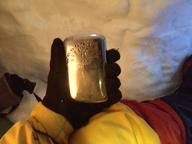 ハクキンカイロ(ベンジンを燃料にした超温かいカイロ)も使っているが、なおも寒い。