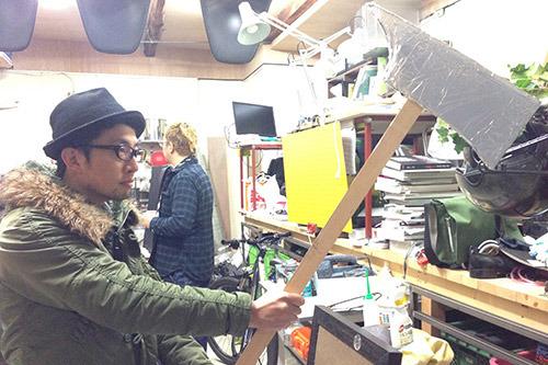 シャイニングの斧、完成
