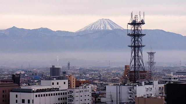 なんだかんだ富士山の景色が一番興奮!