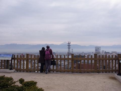富士山が見えた!