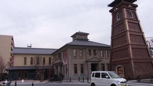 明治・大正・昭和の甲府を再現したという「甲州夢小路」というエリアがあり、その中にあるお店