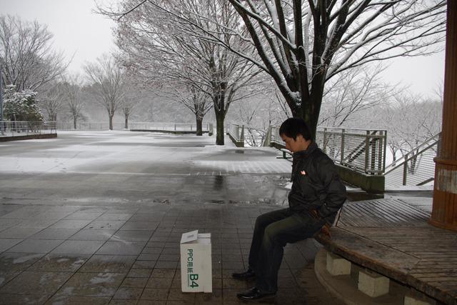 2月、最初の関東豪雪の日。