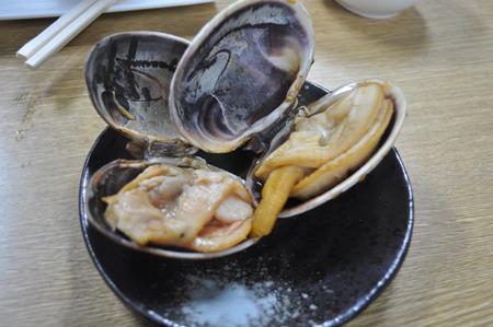 なんとか貝の焼き物。うまかった。