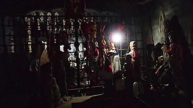 弘法大師が断食した洞窟