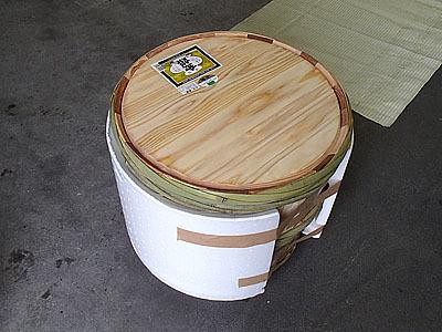 ちなみに、樽やコモのリサイクルは今はやっておらず、基本的には売った先の方が処分しているそうです。