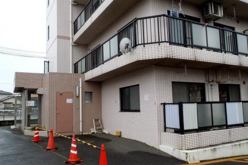 団地の近くにあるマンションは――