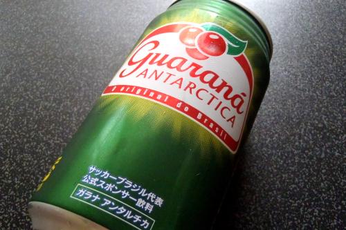 ガラナはブラジルでコーラ並みにメジャーな飲み物らしい