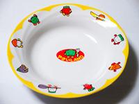 幼稚園でもらった皿
