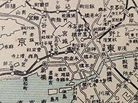 ボロ市で買った古地図