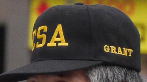 CSAは南北戦争の南軍、もしくはアメリカ陸軍参謀総長の略か。グラント将軍は北軍である。詳細はわからないがとにかくスケールのでかいおっちゃん。