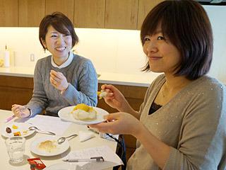 「私、芋焼酎を食べるのが夢だったんですよ!」