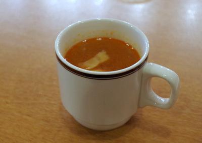 トマトオニオンスープが飲み放題