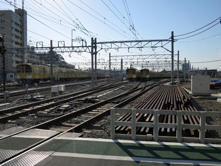 保谷は車両基地があって終着の列車が多いので何かと目にする駅名