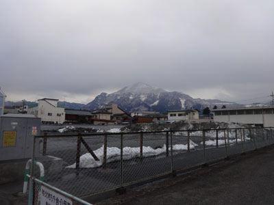 とにかく山が美しいんだ。