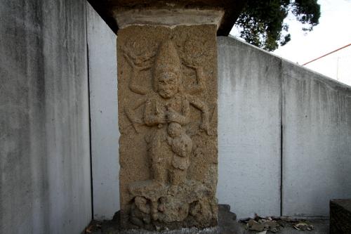 一つは庚申塔の仏である青面金剛