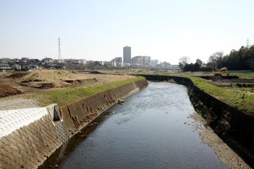 現在は遊水地の整備が進められている。もはや氾濫とは無縁の川だ