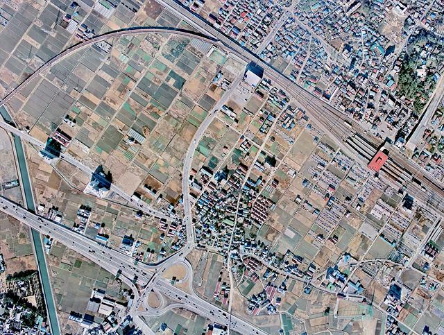 1974年。ぼくがここに住み始めた当初はこんなだった。(国土地理院「地図・空中写真閲覧サービス</a>」より