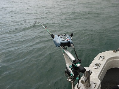 マダラは普段、深海に生息している。そのため、釣り道具も大がかり。(イメージ写真)