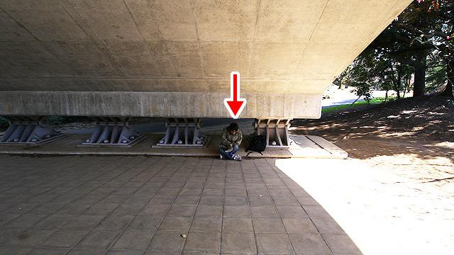 橋の下でやるとなぜか背徳感が増す
