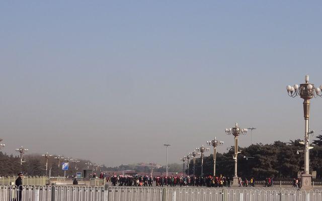 天安門広場は超でかい