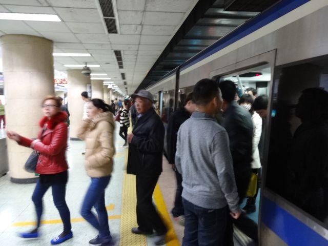 古い2号線(中のループ線)に乗って、隣の乗換駅へ