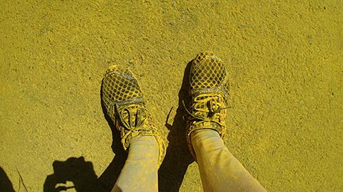 靴は一瞬でこんな感じになります。