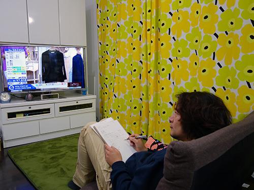 研究というかテレビを見ているだけですけどね