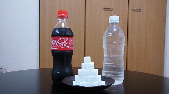 同じ量の砂糖が入ってるのに、水だと飲めないってほんと?