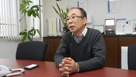 東京エレクトロン株式会社の社長井上聖一さん。同名の大企業もあるがこちらはハンドドライヤーを日本で最初に作った会社