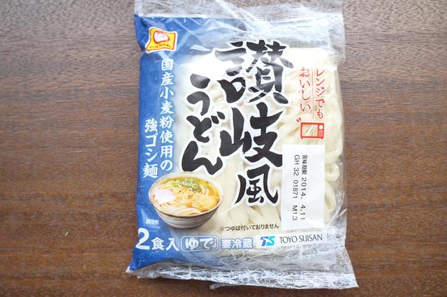 冷蔵であらかじめゆでた状態で売られているチルド麺代表は東洋水産「讃岐風うどん」。このほか同シリーズで「稲庭風うどん」もあった。