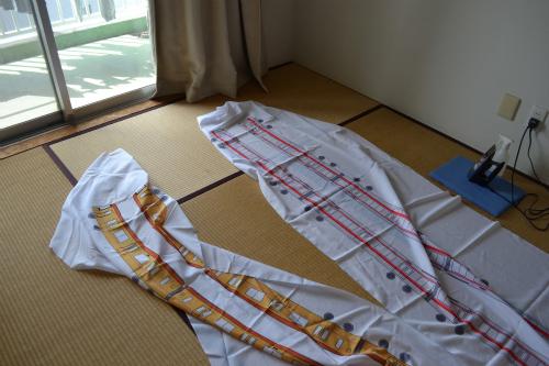 全長3メートルぐらいある