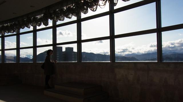 21階の360度絶景ビュー。無料でとてもいい景色なのに人はまばら