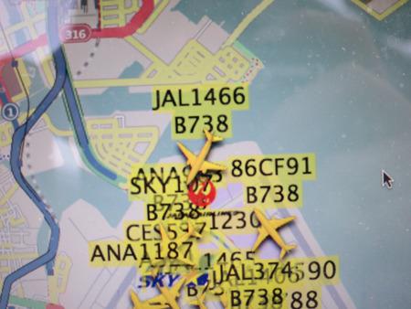 このJAL1466便は