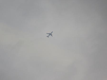 あの飛行機はなんだろう