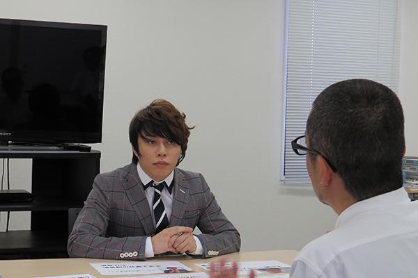 西川さんにインタビュー