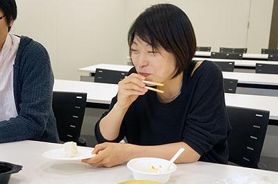 ご飯だと思って食べたらしょっぱくておいしかった人の表情をご覧ください(1)
